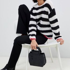 ➡️ final SALE!⬅️asos striped knit sweater